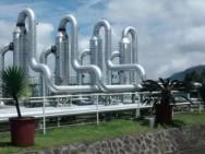 Een geothermische centrale in Indonesië (foto: Jan-Diederik van Wees).