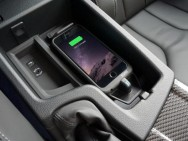 The benefits of in-car wireless charging. Image: Aircharge. This is *not* the editor's vehicle.