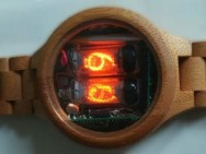 So retro and oh so stylish: build a wooden Nixie watch