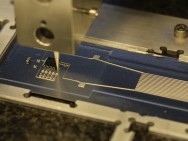 Hybrid 3D printer uses flexible conductive ink. (Photo courtesy of Harvard Wyss Institute)