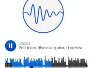 Obama und Trump diskutieren über Lyrebird. Bild: Lyrebird