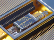 Rekord-On-Chip-Laser. Bild: Lionix.