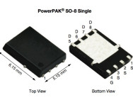 Power-MOSFET SiRA20DP. Bild: Vishay.
