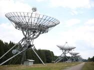 Das Synthese-Radioteleskop in Westerbork (Foto: Elodie Burillon - hucopix.com)