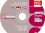 Elektor-Jahrgangs-DVD 2017 exklusiv für Abomitglieder