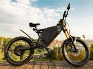 Autonomie de 380km pour ce vélo électrique. Illustration: Delfast.