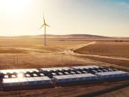 Batterie géante en Australie Méridionale. Illustration : Réservoir d'énergie de Hornsdale.