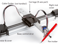 AxiDraw, table traçante tous supports
