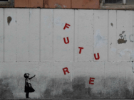 Œuvre de Banksy, artiste de rue. Photo : Salvatore Vastano. Licence CC BY-ND 2.0
