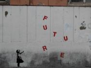 Banksy straatkunst. Foto gemaakt door Salvatore Vastano. CC BY-ND 2.0 licentie.