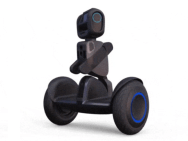 Mobiele robot-sidekick & tassendrager. Afbeelding: Segway Robotics