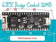 ESP32 Design Contest 2018 – U hebt nog maar één week!