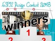 ESP32 Design Contest 2018: De Winnaars!