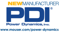 Logo Power Dynamics Inc as a new manufacturer for Mouser thumb