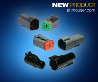 DEUTSCH DT Family of Cable-to-Cable connectors from TE Connectivity, now at Mouser thumb
