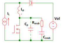 Image of resistor-capacitor snubber configuration