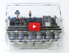 Nouveau kit Elektor-LABS : horloge à tubes VFD et ESP32