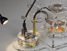 Review: Peltier-Lampe als Elektor-Kit