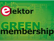 Elektor verloot 10 GREEN-lidmaatschappen