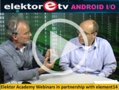 Elektor.TV: Do-It-Yourself Apps with an Android IO Board