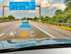 Head-Up-Displays. Bild: Osram Opto Semiconductors.