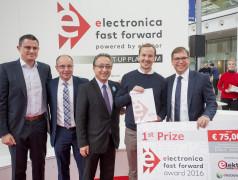 Nehmen Sie an electronica Fast Forward, the Startup Platform powered by Elektor teil
