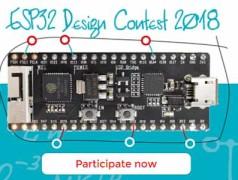 ESP32-Design-Wettbewerb 2018 nimmt Fahrt auf