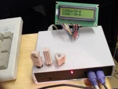 MIDI-Controller mit zwei PS/2-Tastaturen im Selbstbau