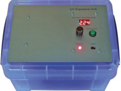 UV Exposure Unit with PIC-based Timer