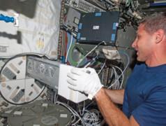 Electronics in Orbit