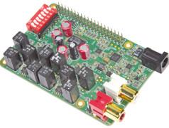 Audio DAC for Raspberry Pi