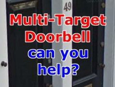 Invisible Multi-Target Doorbell