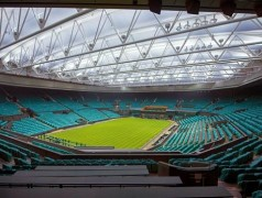 Wimbledon goes LED lighting. Image: Musco Lighting