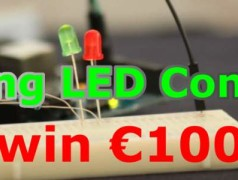 Contest: design a fading-LED circuit, win €100!