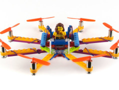 Crash and laugh: the Lego drone