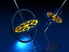 Gyroscope is smaller, performs better while consuming less