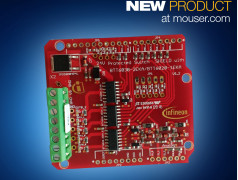 Infineon's Arduino-Compatible 24V PROFET Switch Shield  Now at Mouser Electronics