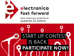 electronica fast forward - the startup platform powered by Elektor is back!