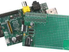 Prototyping-Board für Raspberry Pi