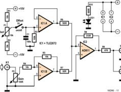 Signalverstärker für USB-Oszilloskop