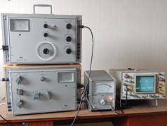 Professioneller Audio-Messplatz von Anno Domini 1969