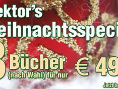 Weihnachtsangebot: 3 Elektor-Bücher für nur 49,90 Euro