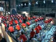 Stromproduktion mit Muskelkraft: Ein Experiment der BBC