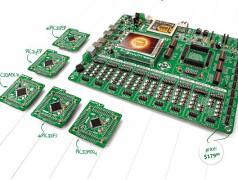 EasyPIC Fusion: Entwicklungssystem für drei Architekturen