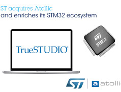 STMicroelectronics übernimmt Atollic. Bild: STMicroelectronics.