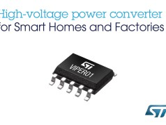 The converter is tailored to provide the auxiliary supply to microcontrollers in IoT devices that are permanently connected to the Internet or a local network.