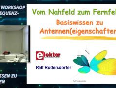 """Gratis für Elektor-Leser: Videokurs """"Hochfrequenztechnik"""" (Teil 3)"""