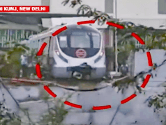 Straßenbahn macht sich selbständig. Bild: IndiaToday.in
