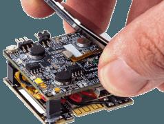 Die Entwicklungsplattform für Wearables iCE40 Ultra von Lattice