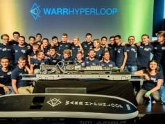 Team der TU München.Bild: WARRHYPERLOOP